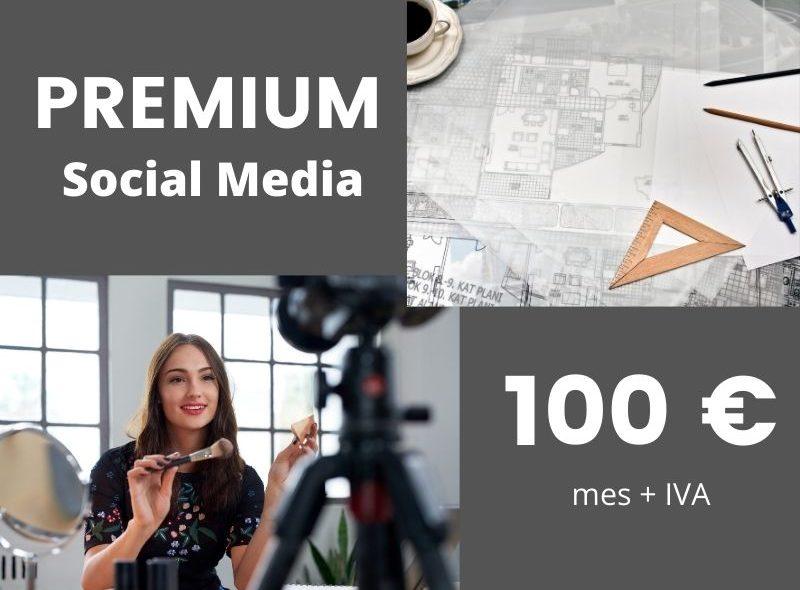 redes sociales premium