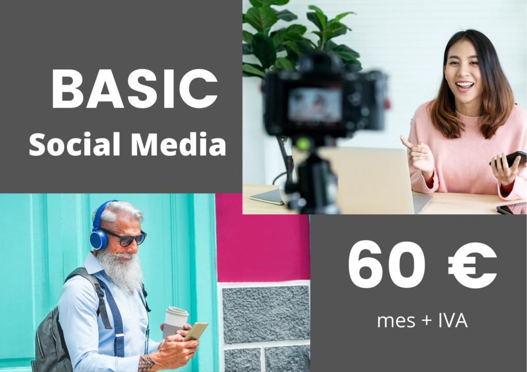 redes sociales basic